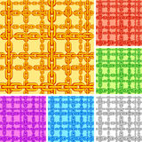 Seamless chain pattern. Stock Images