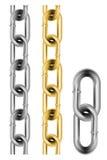 Seamless chain Royalty Free Stock Photo