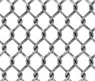 Seamless chainlink fence Stock Photography