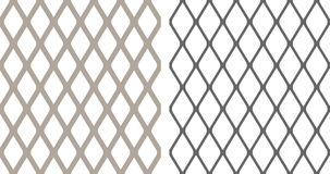 Seamless chainlink fence Royalty Free Stock Images