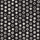 Seamless chaotic patterns. Randomly scattered geometric shapes. Abstract retro background design. Seamless chaotic patterns. Randomly scattered geometric square vector illustration