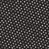 Seamless chaotic patterns. Randomly scattered geometric shapes. Abstract retro background design. Seamless chaotic patterns. Randomly scattered geometric square stock illustration