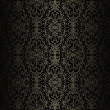 Seamless charcoal wallpaper - style retro. Royalty Free Stock Photos