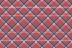 Seamless check fabric texture tablecloth pattern. Vector illustration vector illustration