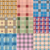 Seamless check pattern Royalty Free Stock Photography