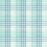Seamless checked blue pattern Stock Image