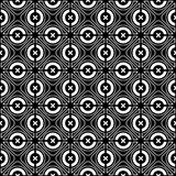 Seamless checked crisscross pattern. Royalty Free Stock Photography