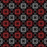 Seamless checked pattern. Stock Images