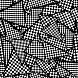 Seamless checker pattern background Royalty Free Stock Photo