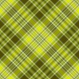 Seamless checkered diagonal pattern Royalty Free Stock Photography