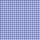 Seamless checkered Gingham pattern - Blue and White. Seamless checkered Gingham pattern -  Blue and White Royalty Free Stock Photography