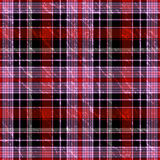 Seamless checkered grunge pattern Stock Photography