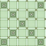 Seamless checkered pattern Stock Image