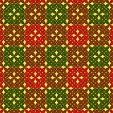 Seamless checkered pattern Stock Image