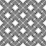 Seamless checkered pattern. Royalty Free Stock Photography