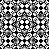 Seamless checkered pattern. Stock Photos