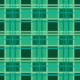 Seamless checkered pattern in Emerald Royalty Free Stock Photography