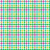 Seamless checkered pattern. Texture in the form of a fabric. Seamless checkered pattern of multi-colored pastel color. Texture in the form of a fabric Stock Photos
