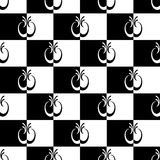 Seamless checkered pattern. Stock Photo