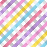 Seamless checkered pattern. Stock Photos
