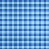 Seamless checkered  pattern. Vintage blue plaid fabric texture. Abstract geometric background. Vintage blue plaid fabric texture. Tablecloth for picnic Texture Stock Images