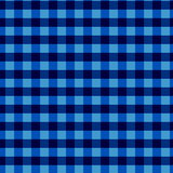 Seamless checkered  pattern. Vintage blue plaid fabric texture. Abstract geometric background. Vintage blue plaid fabric texture. Tablecloth for picnic Texture Stock Photography