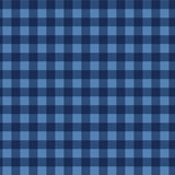 Seamless checkered  pattern. Vintage blue plaid fabric texture. Abstract geometric background. Vintage blue plaid fabric texture. Tablecloth for picnic Texture Royalty Free Stock Photography