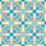 Seamless checkered plaid pattern Royalty Free Stock Photography