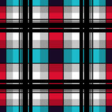 Seamless checkered plaid pattern Royalty Free Stock Photo