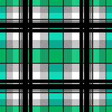 Seamless checkered plaid pattern Stock Images