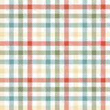 seamless checkered table cloth pattern Stock Photo