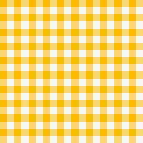 Seamless checkered tablecloth. Traditional gingham pattern, checkered fabric, tablecloth texture Stock Image