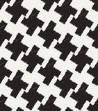 Seamless checkered textile fabric Stock Photography
