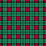 Seamless checkered texture Stock Photography