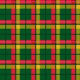 Seamless checkered vector bright pattern Stock Photos