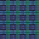 Seamless checkered vector dark pattern Stock Images