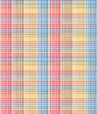 Seamless checks pattern. Background red blue yellow color vector illustration