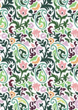 Seamless cheerful pattern spring. Bright vector designs for cards, prints and packages stock image