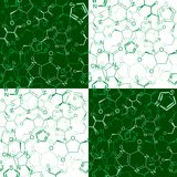 Seamless chemical pattern Royalty Free Stock Images
