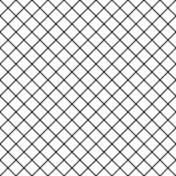 Seamless chequered background. Diagonal rhombus pattern. Geometric seamless texture. Mosaic plaid. Checkered vector illustration. Black and white stock illustration