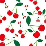 seamless Cherry Arkivbild
