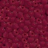 Seamless cherry background Stock Photos