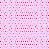 Seamless cherry illustration pattern Royalty Free Stock Photography