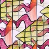 seamless Cherry, marsh watercolor artist wallpaper modern textur royalty free illustration