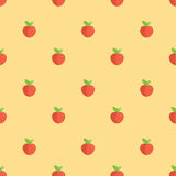 Seamless Cherry Pattern Background Royalty Free Stock Images