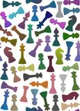 Seamless Chess Stock Photo