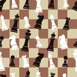 Seamless chess background pattern, vector. Abstract background with seamless chess  pattern, vector Royalty Free Stock Images