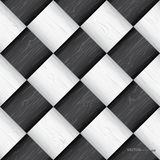 Seamless chess board texture Stock Image
