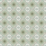 Seamless chess pattern of circles and rings Stock Image