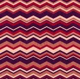 Seamless chevron background pattern Stock Photography